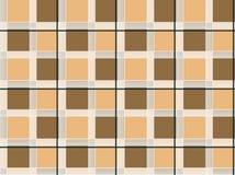 Seamless geometric checks shirt design. Color stock illustration