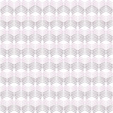Seamless Geometric Chevron Pattern Royalty Free Stock Photos