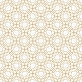 Seamless geometric circle pattern background. Vector illustration.  Vector Illustration