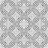 Seamless geometric circles pattern. Stock Photos