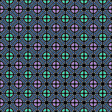 Seamless geometric color pattern. Royalty Free Stock Image