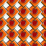 Seamless geometric color pattern Royalty Free Stock Photography