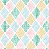 Seamless Geometric Color Tile Vector Pattern Background Wallpape Stock Photography