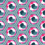 Seamless Geometric Colorful Pattern Royalty Free Stock Photo