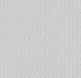 Seamless geometric concentric hexagon honeycomb pattern. Background stock illustration