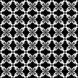 Seamless geometric crisscross pattern. Stock Images