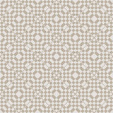 Seamless geometric decorative pattern Stock Photo