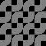 Seamless geometric design. Royalty Free Stock Images