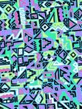Seamless  geometric design Stock Photo