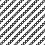 Seamless geometric diagonal pattern with ornamental stripes. Seamless geometric monochrome diagonal pattern with ornamental stripes. Vector illustration Royalty Free Illustration