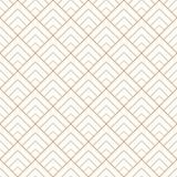 Seamless geometric diamond tile minimal graphic vector pattern.  Royalty Free Stock Image