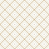 Seamless geometric diamond tile minimal graphic vector pattern Royalty Free Stock Image