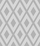 Seamless geometric diamonds pattern. Stock Images