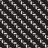 Seamless geometric doodle lines pattern in black and white. Adst. Seamless geometric doodle pattern in black and white. Adstract hand drawn lines retro texture stock illustration