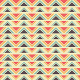 Seamless geometric ethnic pattern Royalty Free Stock Photography