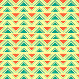 Seamless geometric ethnic pattern Stock Image