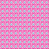 Seamless geometric flower pattern Stock Photography