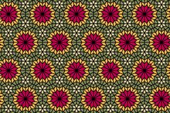 Seamless geometric glass pattern stock illustration