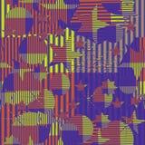 Seamless geometric gradient pattern Royalty Free Stock Photos