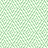 Seamless geometric green pattern. Vector illustration. Royalty Free Stock Image