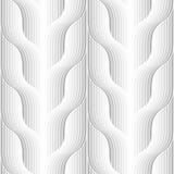 Seamless geometric grey pattern Royalty Free Stock Photos