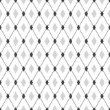 Seamless geometric hipster pattern. Monochrome Royalty Free Stock Images