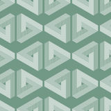 Seamless geometric imagination pattern Royalty Free Stock Photography