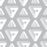 Seamless geometric imagination pattern Stock Images