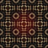 Seamless Geometric Islamic Pattern Royalty Free Stock Photography