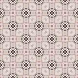 Seamless Geometric Islamic Pattern Stock Photography