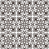 Seamless geometric kazakh ornament Royalty Free Stock Image
