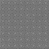 Seamless geometric key pattern Royalty Free Stock Photo