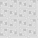 Seamless geometric key pattern Royalty Free Stock Image
