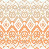 Seamless geometric lace elements pattern ornamental pattern Royalty Free Stock Images