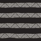 Seamless geometric lines pattern in black and white. Adstract hand drawn retro texture. Seamless geometric doodle pattern in black and white. Adstract hand vector illustration