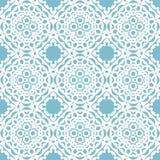 Seamless geometric mandala pattern Royalty Free Stock Photography