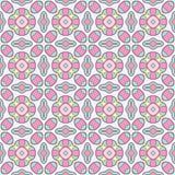 Seamless geometric mandala pattern Royalty Free Stock Photo