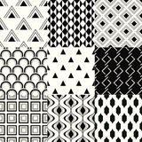 Seamless geometric mesh pattern Royalty Free Stock Photography