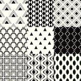 Seamless geometric mesh pattern Royalty Free Stock Photography