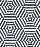 Seamless geometric mesh textured pattern Stock Photos