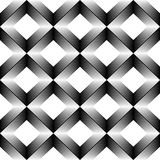 Seamless Geometric Modern Graphic Design. 3d Abstract Monochrome. Background. Vector Gradient Decorative Wallpaper Royalty Free Stock Photos