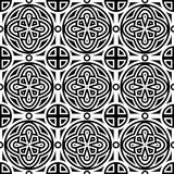 seamless geometric monochrome pattern Royalty Free Stock Photo