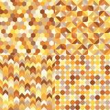 Seamless geometric multicolor pattern stock illustration