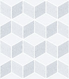 Seamless geometric op art pattern. Royalty Free Stock Photo