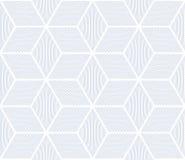 Seamless geometric op art pattern. Stock Photography