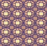 Seamless geometric oriental pattern Royalty Free Stock Images