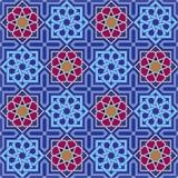 Seamless Islamic Ornament Geometric Art royalty free illustration