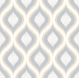 Seamless geometric ornament mesh pattern Stock Photos