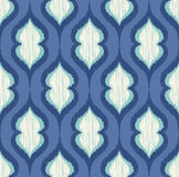 Seamless geometric ornament mesh pattern Royalty Free Stock Photos