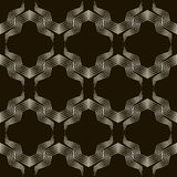 Seamless geometric ornament pattern. Stylish background vector r Stock Image